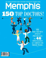 Dr. Lawrence Schrader in Memphis Magazine's Top Doctors